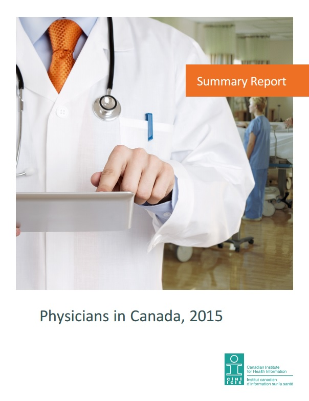 Physicians in Canada 2015 CIHI
