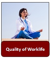Quality of Worklife Button