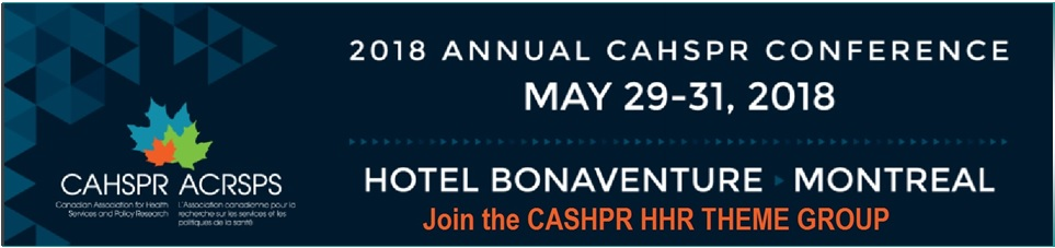 CAHSPR 2018 Conference